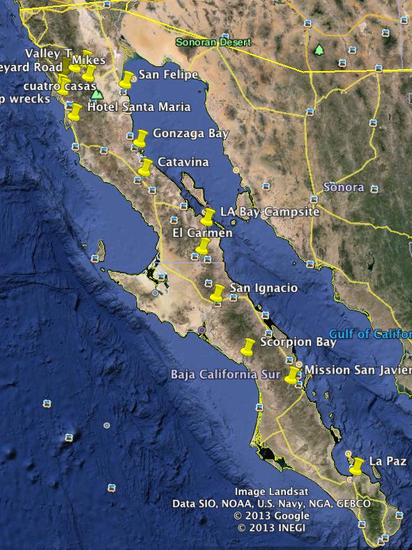 Baja GPS