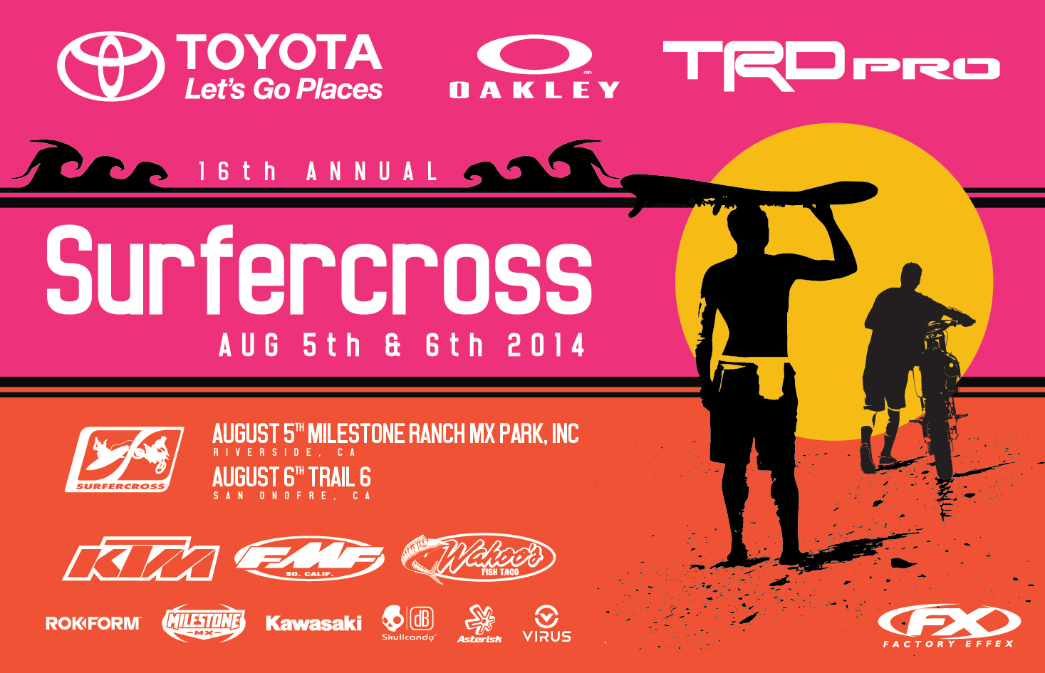 Surfercross TRD Pro Race Effort Launch