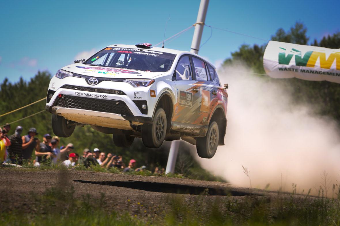 Rally RAV4 Build Report